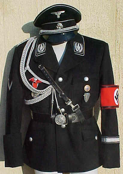 Allgemeine-SS uniform  Waffen Ss Officer Uniform