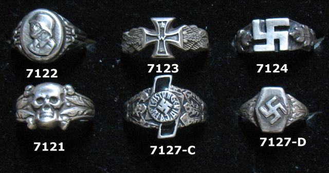 Rings & Jewelry of The Third Reich