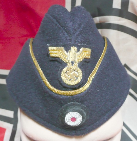 KM OFFZ SIDE CAP WITH INSIGNIA